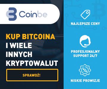 Nowa polska giełda kryptowalut CoinBe