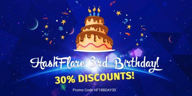 3 urodziny kopalni kryptowalut HashFlare