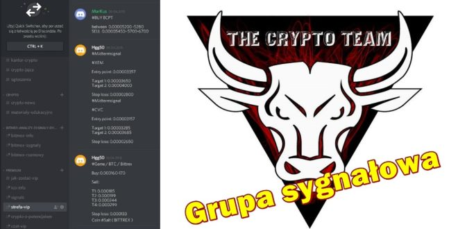 Grupa sygnałowa The Crypto Team