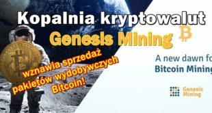 Kopalnia kryptowalut Genesis Mining wznawia sprzedaż pakietów wydobywczych! 2