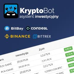 KryptoBot, trading w prostym wydaniu