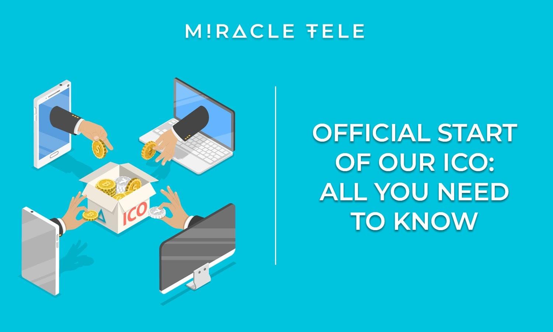 Miracle Tele, ICO Rozpoczyna się 15 października