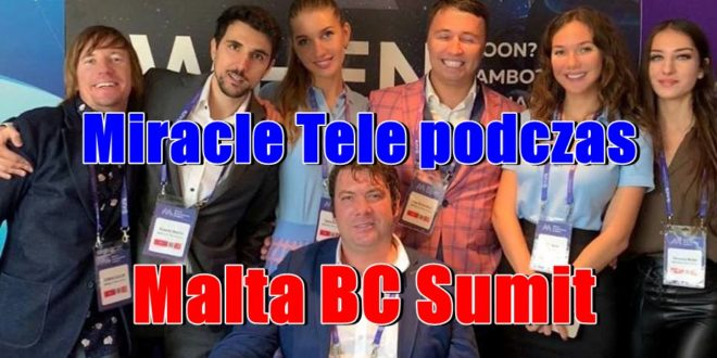 Miracle Tele podczas Malta BC Sumit