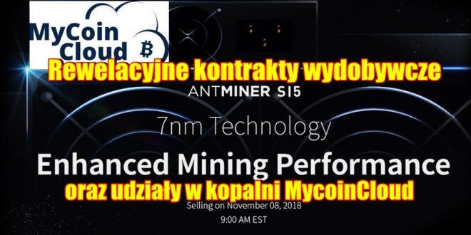 Rewelacyjne kontrakty wydobywcze w technologii 7nm oraz udziały w kopalni MycoinCloud