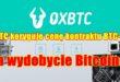 OXBTC koryguje cenę kontraktu BTC-S15 na wydobycie Bitcoina