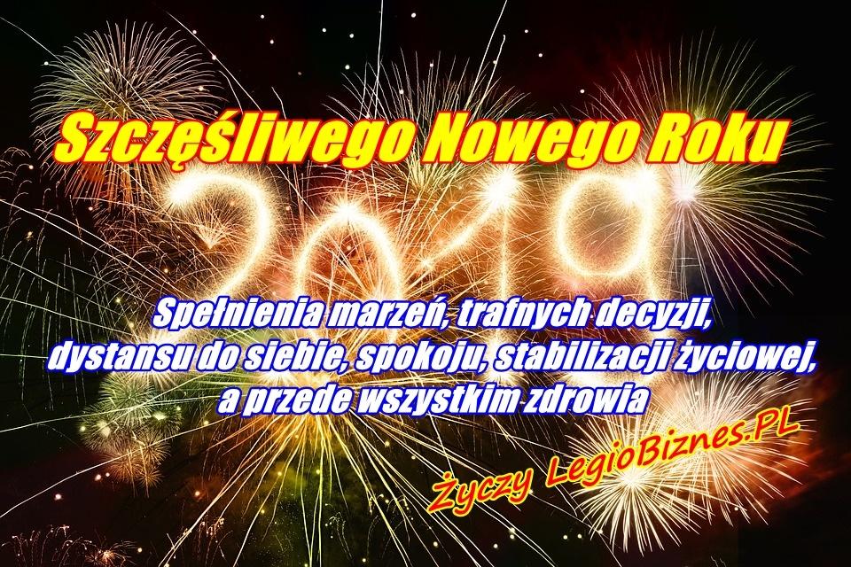 Szczęsliwego Nowego Roku 2019