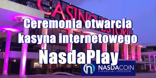 Ceremonia otwarcia kasyna internetowego Nasdaplay