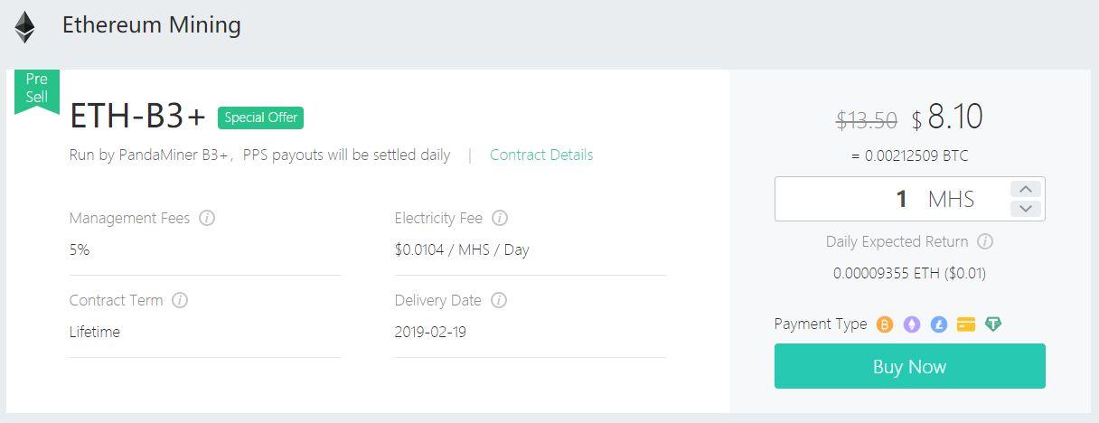 kopalnia OXBTC kontrakt wydobywczy Ethereum ETH