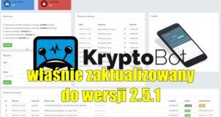 KryptoBot został własnie zaktualizowany do wersji 2.5.1