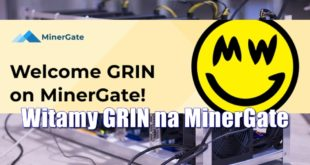 Witamy GRIN na MinerGate