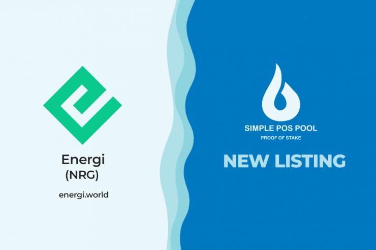 Uruchomienie masternode ENERGI Simple Pos Pool