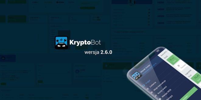 Nowa wersja KryptoBota oraz aplikacja mobilna!