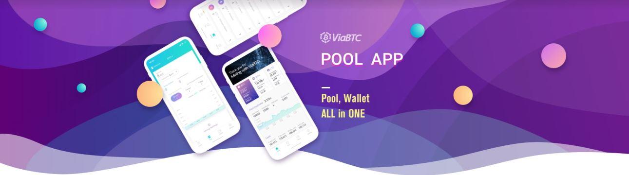 aplikację puli ViaBTC