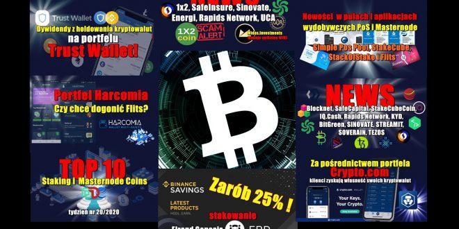 Top 10 Staking i Masternode Coins. Portfel Harcomia. Zarób 25%! Stakowanie Elrond Genesis. Za pośrednictwem portfela Crypto.com klienci zyskują własność...