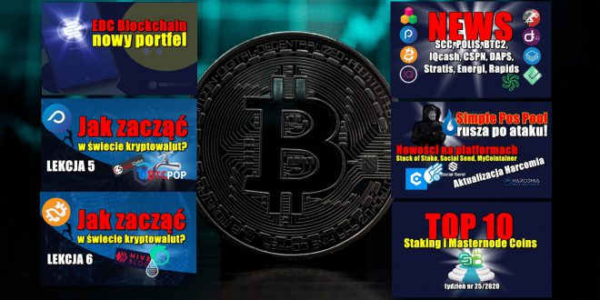 Simple Pos Pool rusza po ataku! Nowości na platformach Stack of Stake, Social Send, MyCointainer. Top 10 Staking i Masternode Coins...