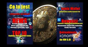 Atomic Wallet – sprawdzamy wyniki kopania PoS! Top 10 Staking i Masternode Coins. Co to jest stakowanie na zimno owości w pulach i aplikacjach wydobywczych