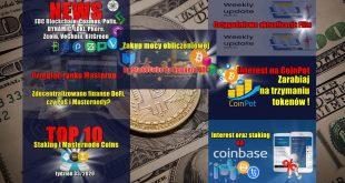 Przegląd rynku Masternode. Zdecentralizowane finanse DeFi, czy PoS i Masternody Cotygodniowa aktualizacja Flits. Top 10 Staking i Masternode Coins