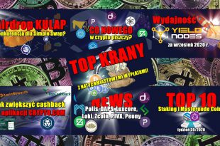 Top 10 Staking i Masternode Coins – tydzień 392020. Wydajność YieldNodes za wrzesień 2020 r. Airdrop KULAP, konkurencja dla Simple Swap
