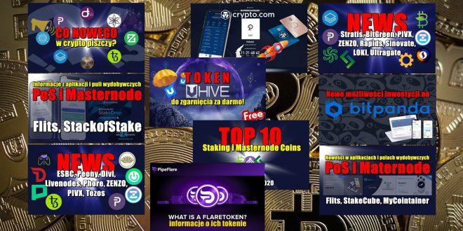 Top 10 Staking i Masternode Coins – tydzień 46/2020. Nowe możliwości inwestycji na BITPANDA! Supercharger w Crypto.com w paru najprostszych krokach