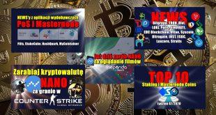 Top 10 Staking i Masternode Coins – tydzień 472020. NEWS'y z aplikacji wydobywczych PoS i Masternode Flits, StakeCube, HashQuark, MyCointainer