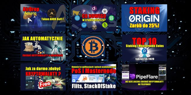 Airdrop Arrano $ANO. Token ANDX DeFi ! Staking Origin Tokens OGN. Zarób do 25%! Top 10 Staking i Masternode Coins – tydzień 502020