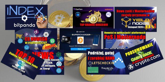 Nowe zyski z Masternodów zostały przyznane w Yieldnodes! Nowości w aplikacjach i platformach PoS i Masternode. Top 10 Staking i Masternode Coins