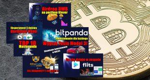 BitPanda – Inwestowanie dla każdego. Wygraj Tesla Model 3! TOP 10 Masternode – tydzień 102021. MINECUBE CEL OSIĄGNIĘTY I CO DALEJ