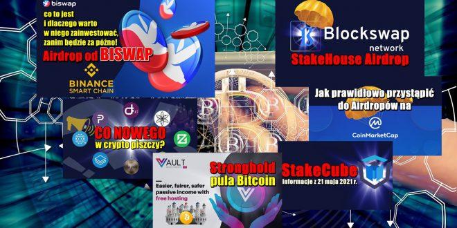 Biswap – co to jest i dlaczego warto w niego zainwestować VAULT.Investments Stronghold – pula Bitcoin. Co nowego w crypto piszczy #40