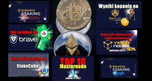 TOP 10 Masternode – tydzień 17/2021. VAULT Crypto Investments, raport tygodniowy #5. Nowe zyski z Masternodów zostały przyznane w Yieldnodes