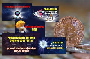 10 najlepszych monet POS – tydzień 352021. Portfel Algorand – nawet do 30% za staking. PROHASHING – Jak poruszać się po stronie i ustawić kopanie