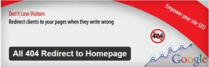 All 404 Redirect to Homepage – przekieruj błędy do strony głównej!