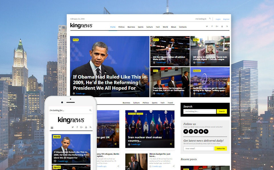kingnews-magazine-news-portal