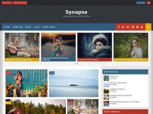 Synapse motyw dla twojej gazety, bloga