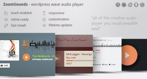 ZOOMSOUNDS – WORDPRESS AUDIO PLAYER