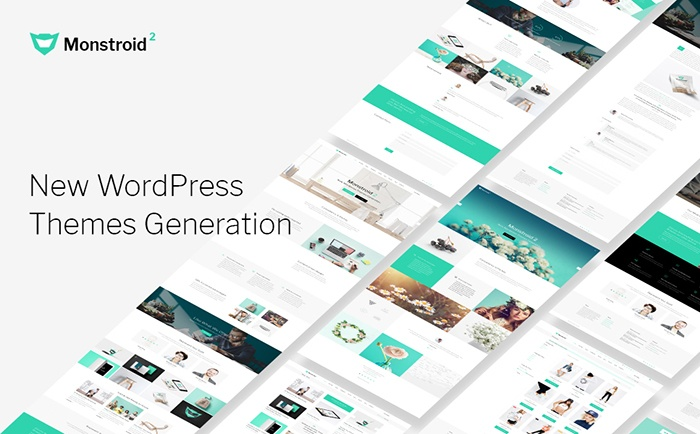 Responsywny motyw WordPress Monstroid 2