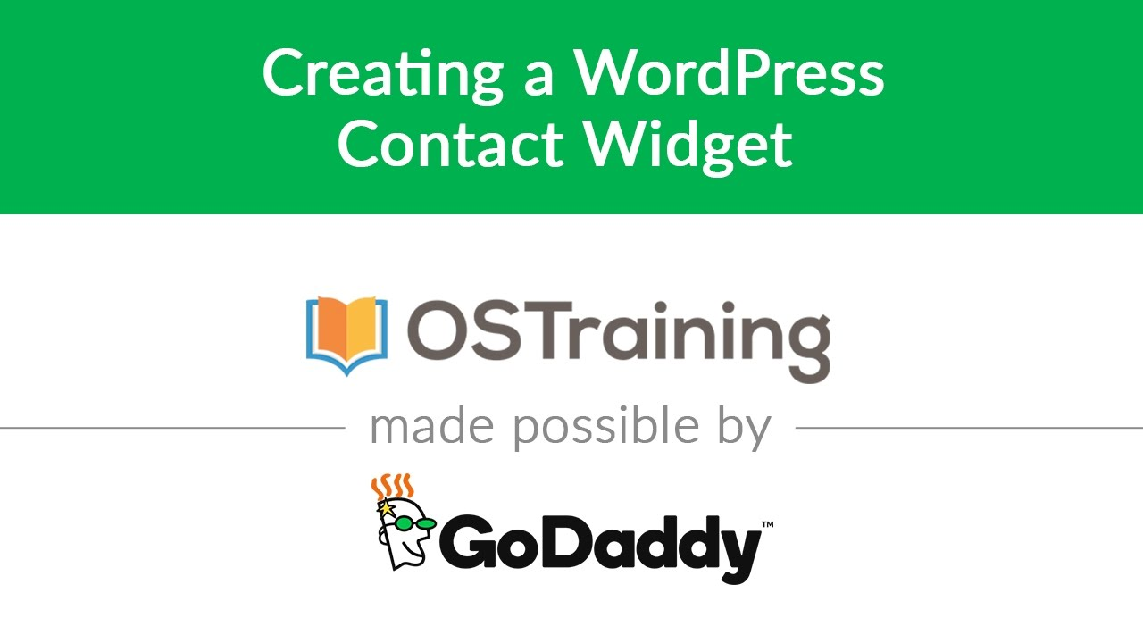 Contact Widgets. Szybka publikacja kontaktu na stronie