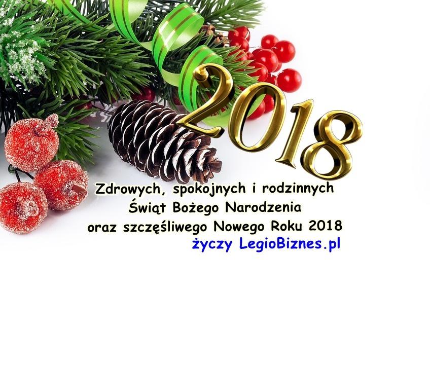 Zdrowych, spokojnych i rodzinnych Świąt Bożego Narodzenia oraz szczęśliwego Nowego Roku 2018