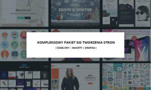 Promocyjny zestaw instrumentów dla deweloperów i projektantów stron www