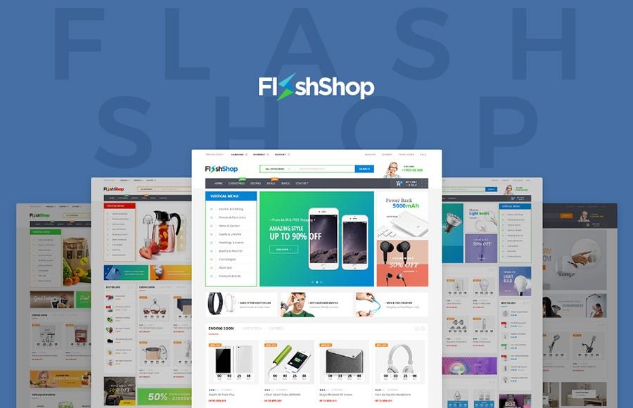 motyw WooCommerce FlashShop