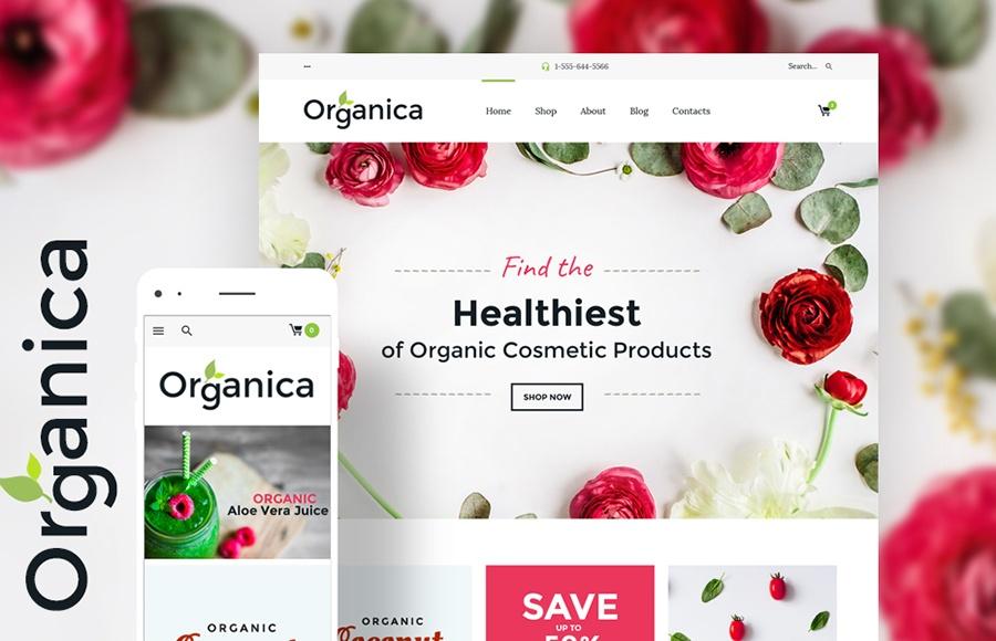 motyw WooCommerce Organica