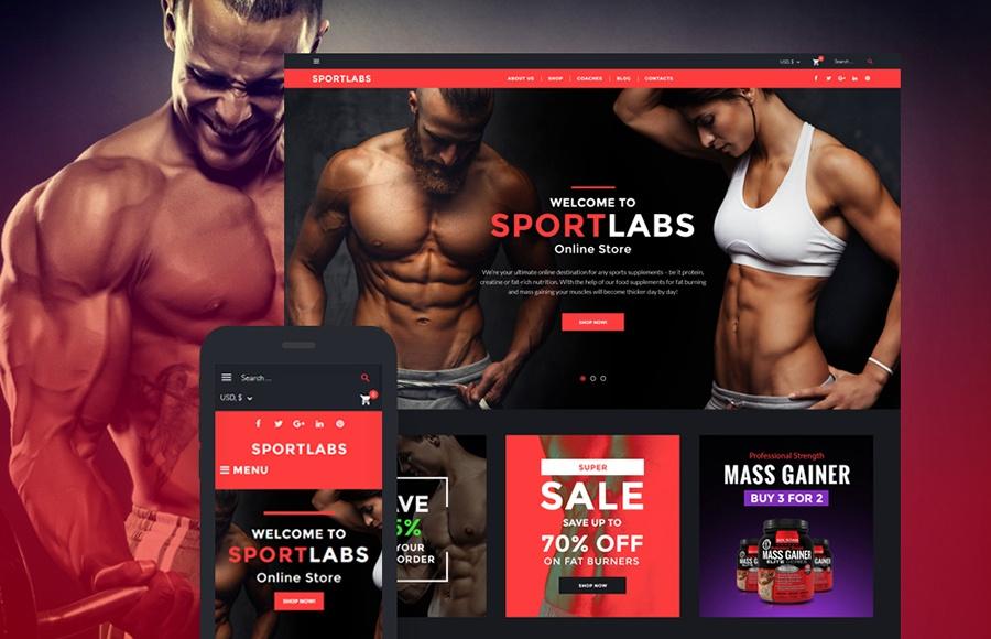 motyw WooCommerce SportLabs