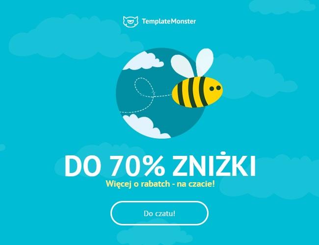 Wielka wyprzedaż motywów w TemplateMonster, nawet do 70% zniżki!