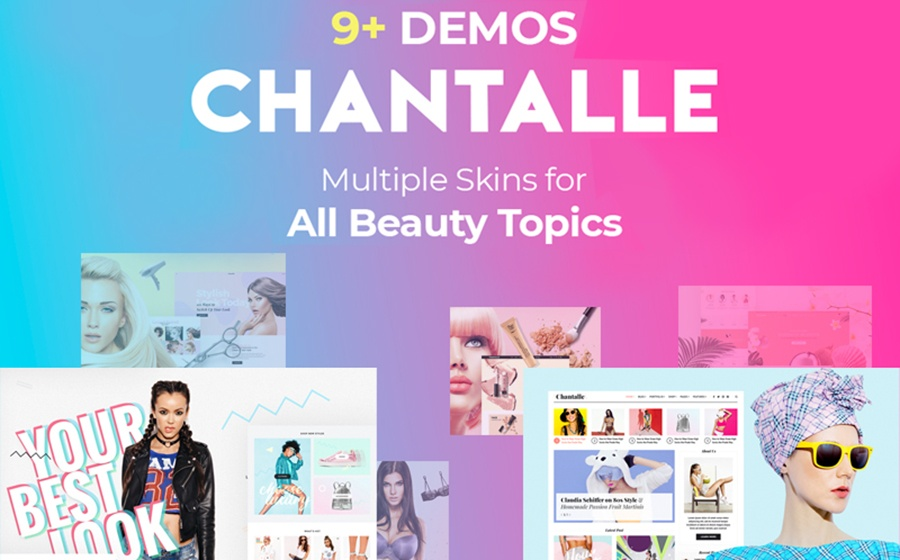Motyw WordPress Chantalle