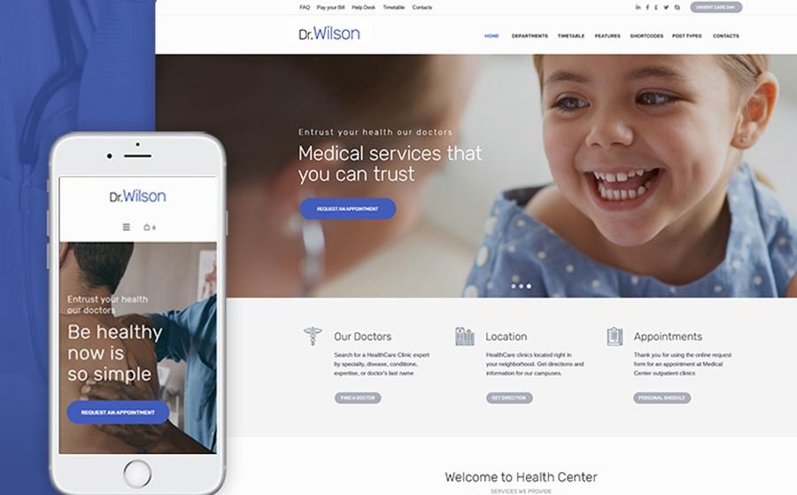 Motyw WordPress Dr.Wilson