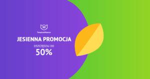 Jesienna promocja w TemplateMonster, zniżki nawet do 51%!