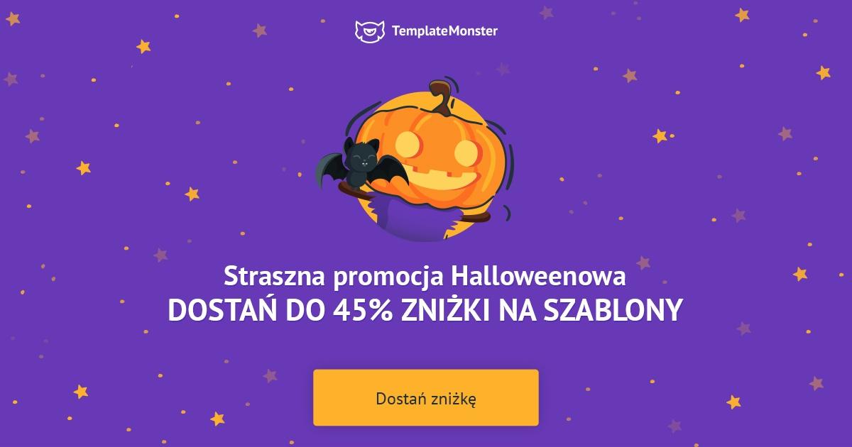 Straszna promocja Helloweenowa na szablony WordPress i nie tylko!