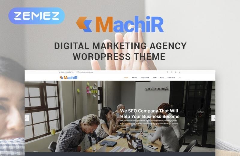 Machir motywy WordPress