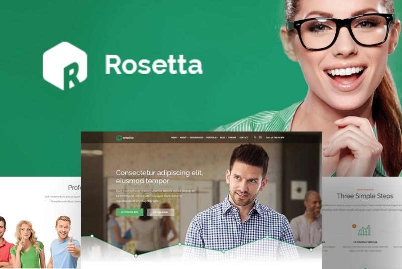 Rosetta motywy WordPress