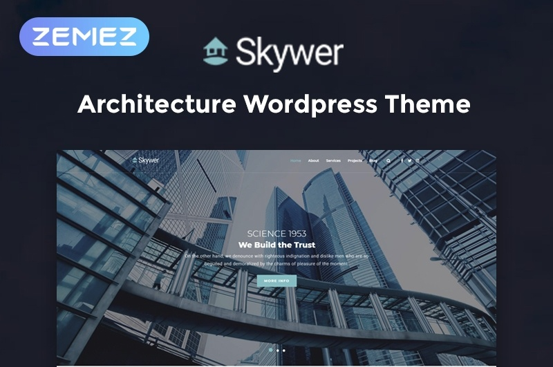 Skywer motywy WordPress