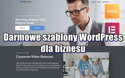 Darmowe szablony WordPress dla biznesu